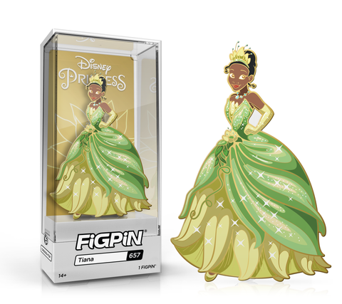 FiGPiN: Disney Princess - Tiana #657 FiGPiN Exclusive / Only available in box set