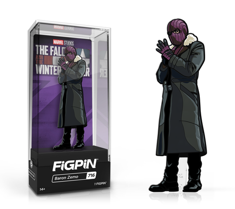FiGPiN: The Falcon and the Winter Soldier - Baron Zemo #716 Limited Edition / 2k pcs ($20)