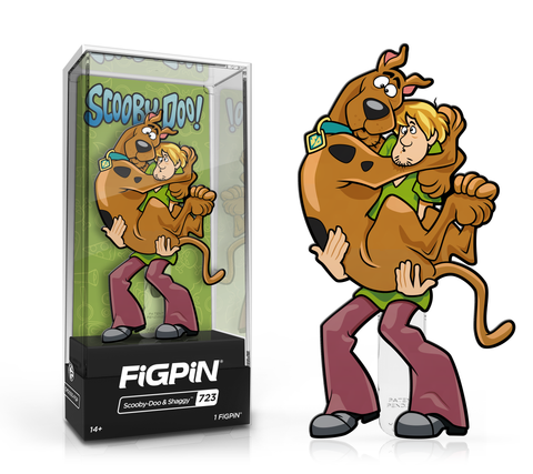 FiGPiN: Scooby-Doo - Scooby-Doo & Shaggy #723 FiGPiN Exclusive / 2k pcs ($20)