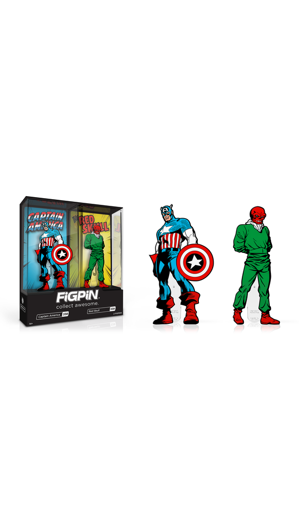 Captain America & Red Skull 2-Pack (#338 & #339)