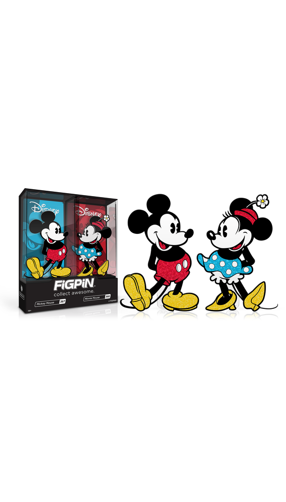 Mickey & Minnie Mouse 2-Pack (#367 & #368)