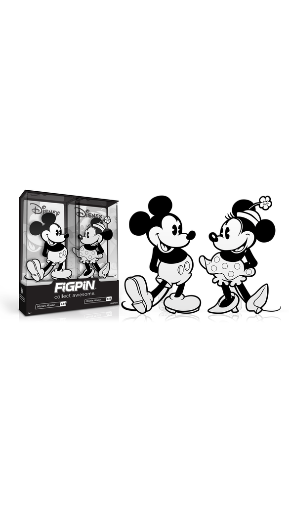 Mickey & Minnie Mouse 2-Pack (#444 & #445)