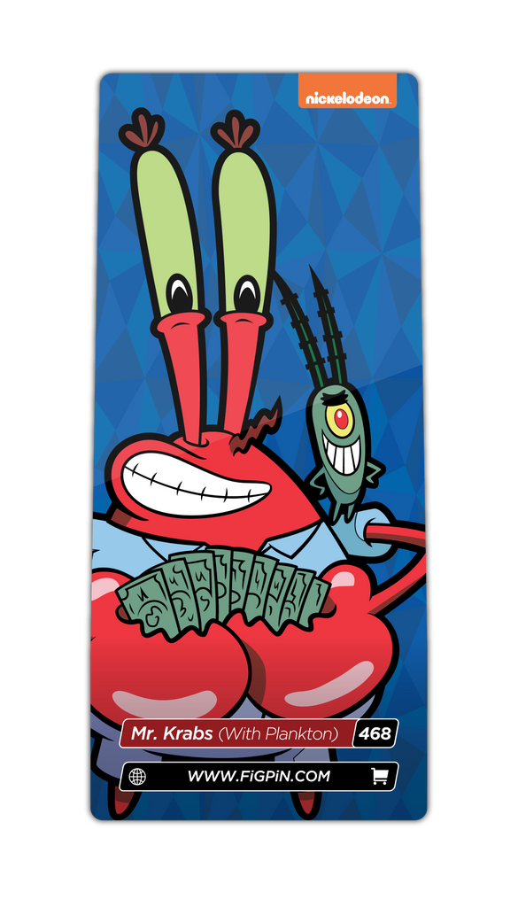 Mr. Krabs (With Plankton) (#468)