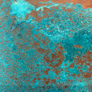 Heavy Verdigris Copper