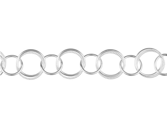 Made to measure big circle bracelet