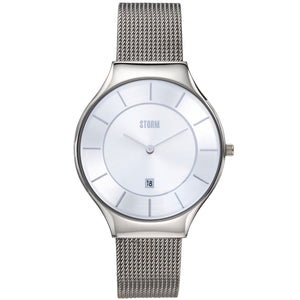 Reese XL Silver.  Slim line storm watch