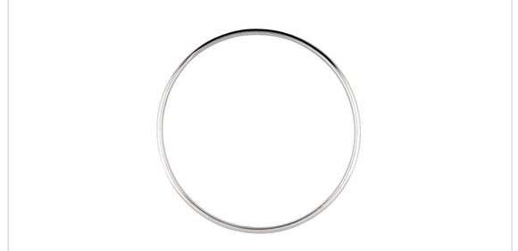 Sterling silver bangle 5.4mm