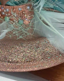 Bespoke made to order Glam large size Headpiece