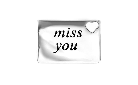 Miss you love letter