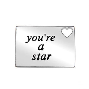 Your a star necklace love letter