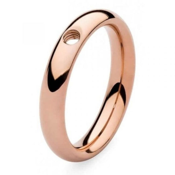 QUDO Slim Rose golden ring