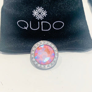 Qudo top blue/ pink silky shimmer deluxe CANINO