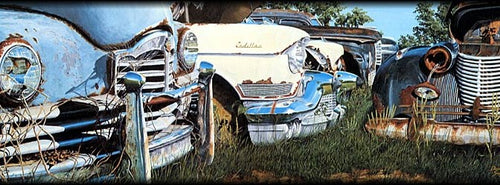 Cadillacs and Packards Artist Proof