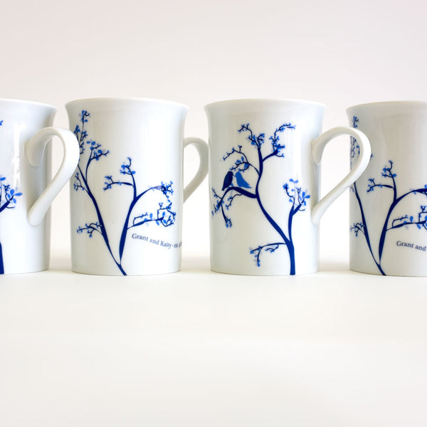 Love Bird Mug - rust designs