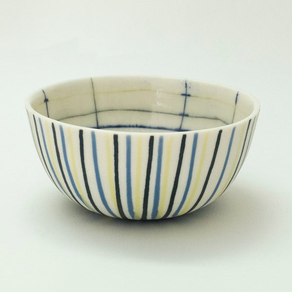 Striped Bowl - rust designs