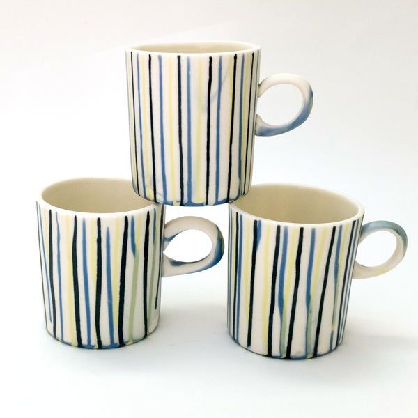 Striped Mug - rust designs