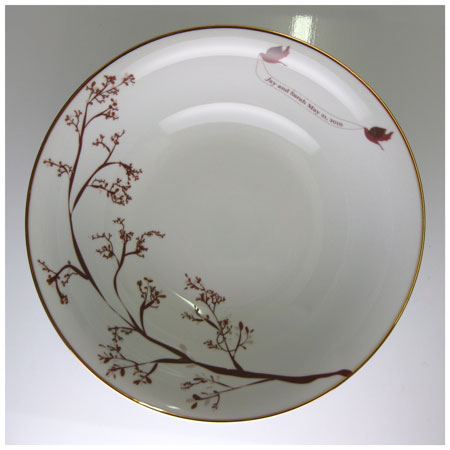 Love Bird Serving Bowl - rust designs