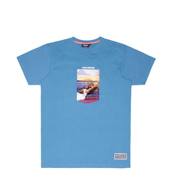 GIBRALTAR - T-SHIRT - BLUE