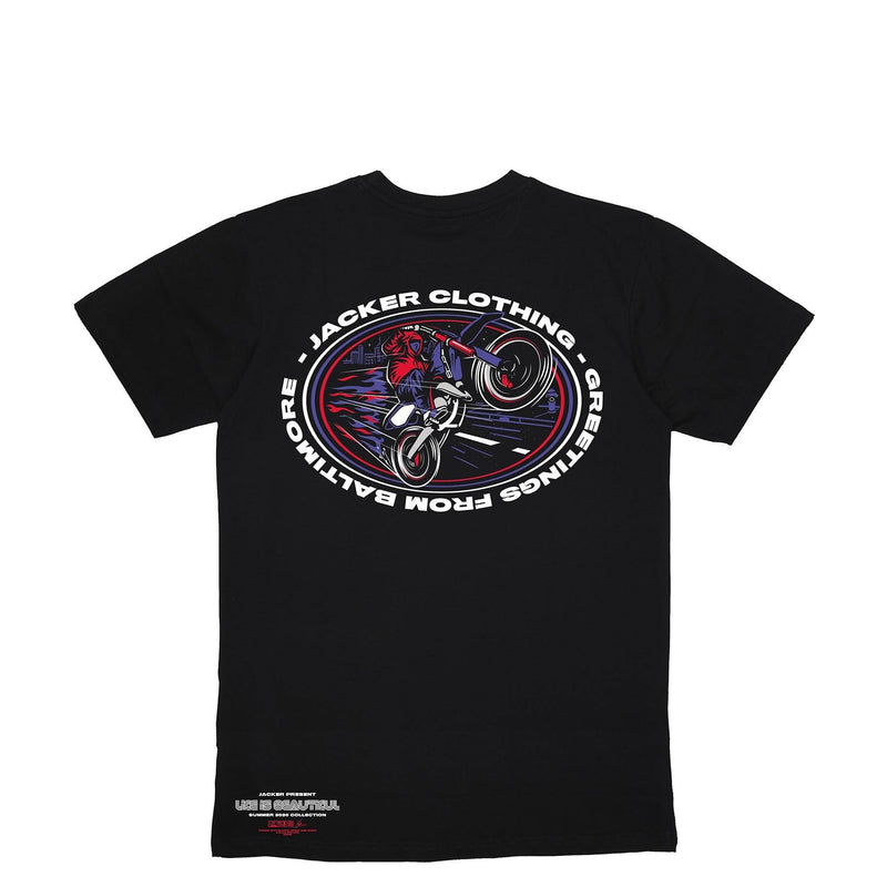 BALTIMORE - T-SHIRT - BLACK