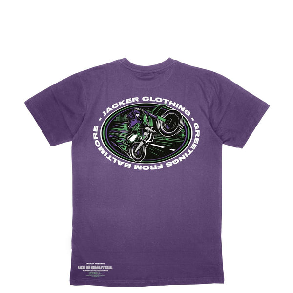 BALTIMORE - T-SHIRT - PURPLE