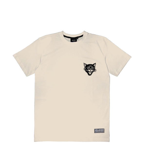 BLACK CATS - T-SHIRT - BEIGE