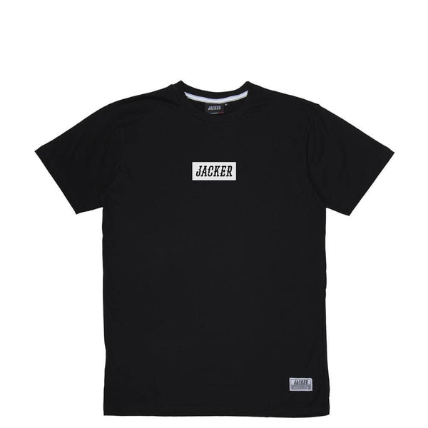 CENTER BOX LOGO - T-SHIRT - BLACK
