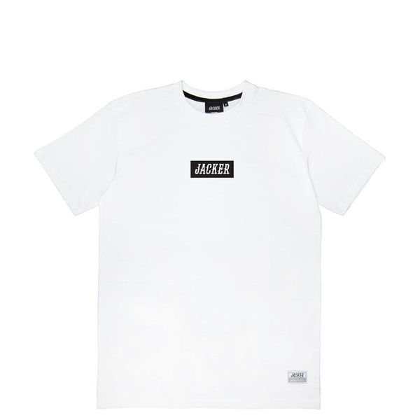 CENTER BOX LOGO - T-SHIRT - WHITE