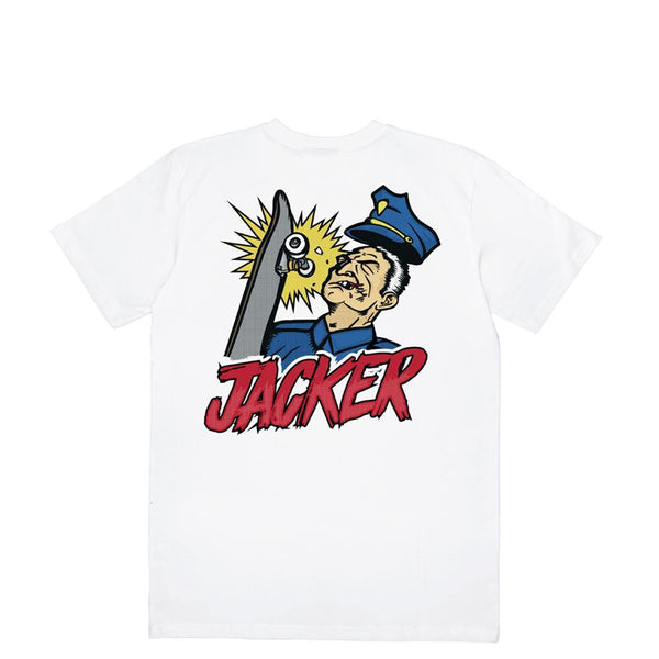 COPS KICKER - T-SHIRT - WHITE