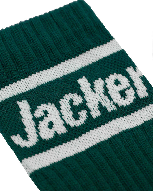 AFTER LOGO - CHAUSSETTES - DARK TEAL