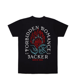 FORBIDDEN ROMANCE - T-SHIRT - BLACK