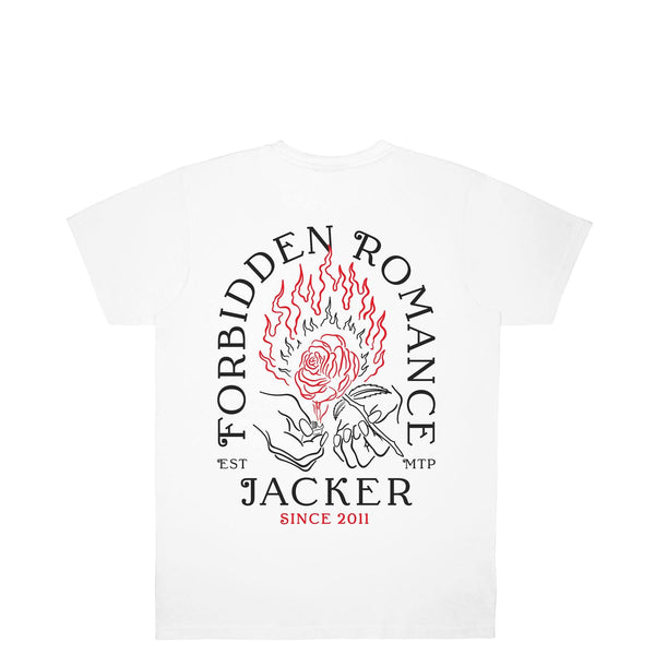 FORBIDDEN ROMANCE - T-SHIRT - WHITE