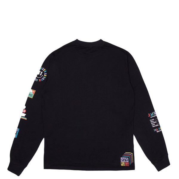 HAPPINESS MARKET - LONG SLEEVES - BLACK