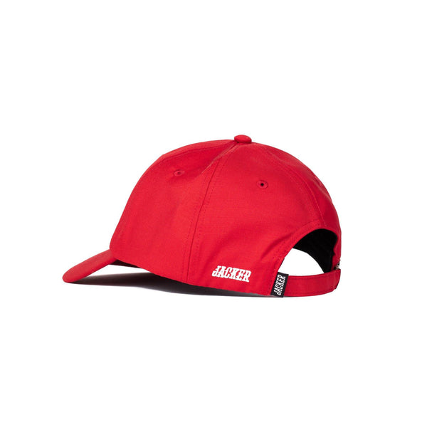 OVAL LOGO CAP - RED