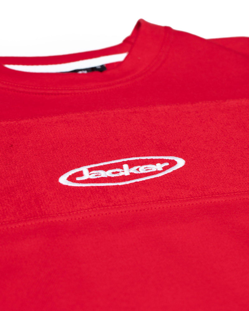 LATE SLEEPERS - CREWNECK - RED