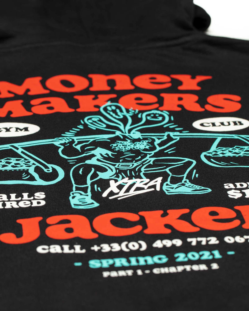 MONEY MAKERS - HOODIE - BLACK