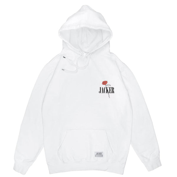 HOLY ROSES - HOODIE - WHITE