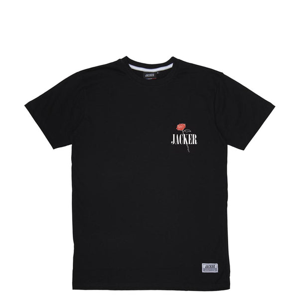 HOLY ROSES - T-SHIRT - BLACK