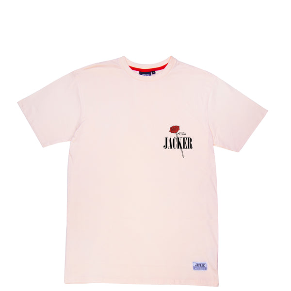 HOLY ROSES - T-SHIRT - PALE PINK