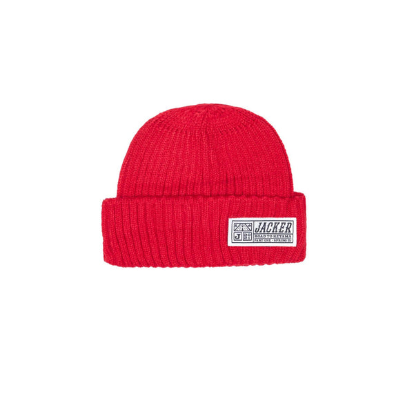 RTK SHORT BEANIE - RED
