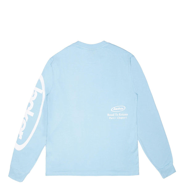LATE SLEEPERS - LONG SLEEVES - BABY BLUE