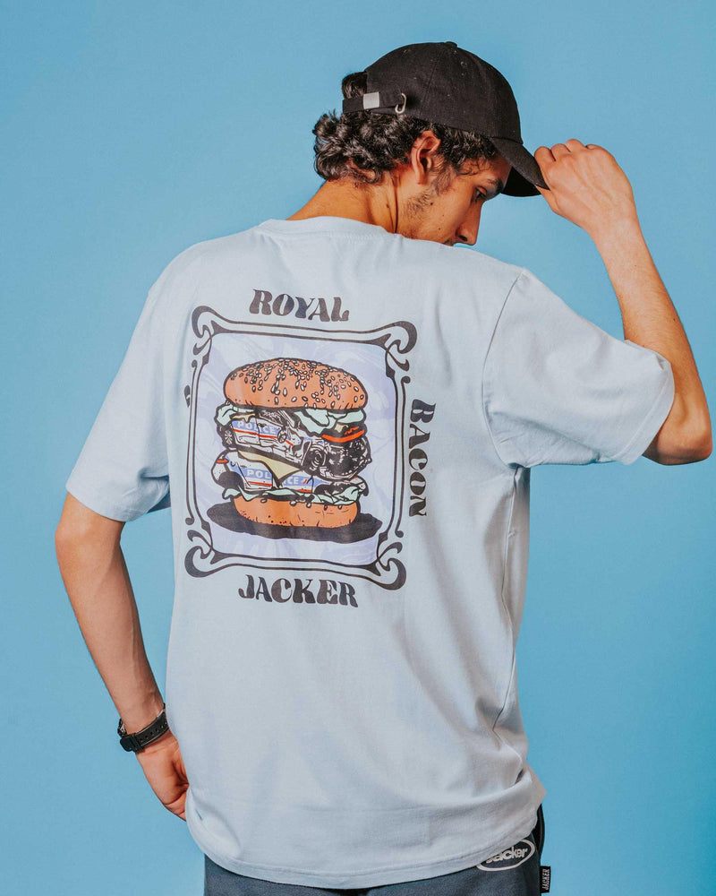 ROYAL BACON - T-SHIRT - PALE BLUE