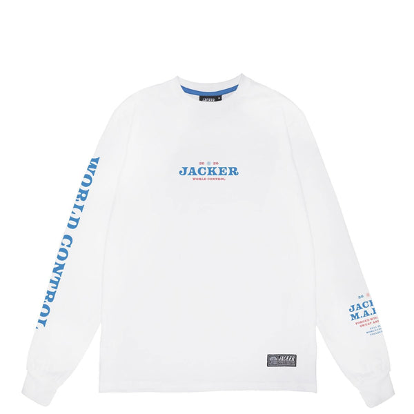 NUCLEAR - LONG SLEEVES - WHITE