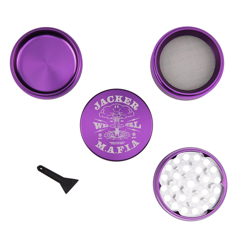 NUCLEAR - GRINDER 50MM - PURPLE