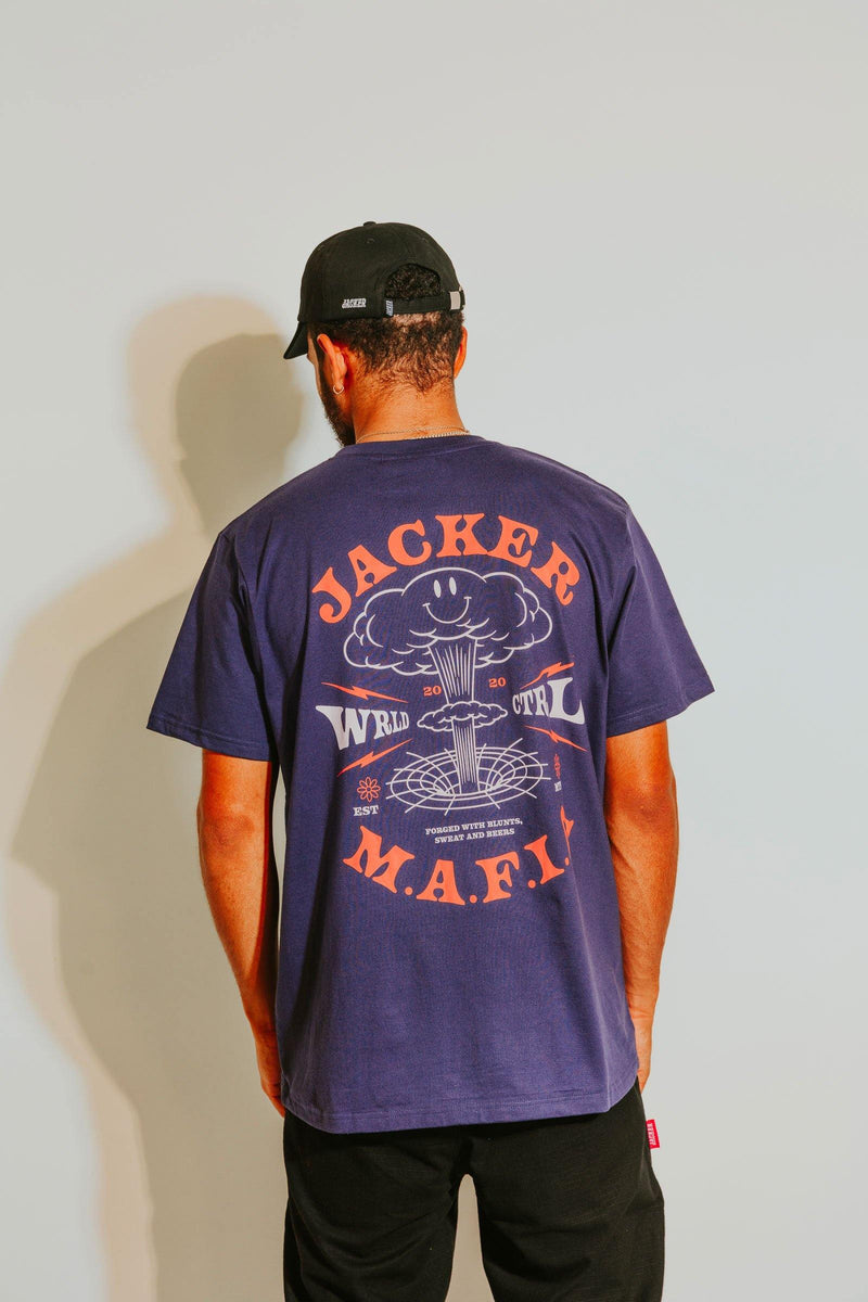 NUCLEAR - T-SHIRT - PURPLE