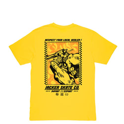 RELOAD - T-SHIRT - YELLOW