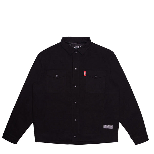 REPTILIAN - WORK JACKET - BLACK