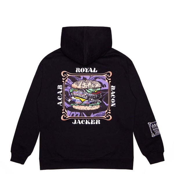 ROYAL BACON - HOODIE - BLACK