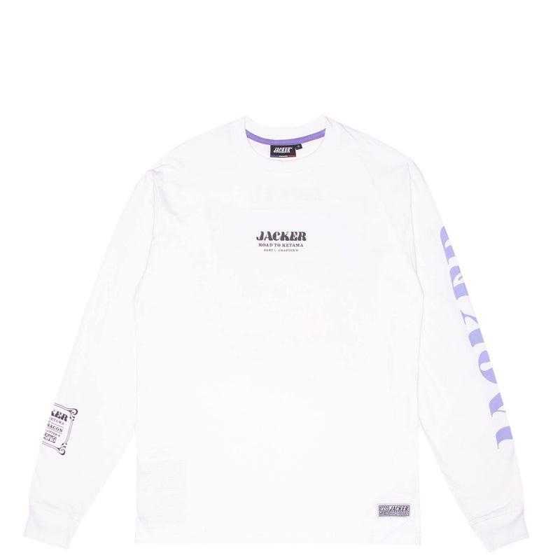 ROYAL BACON - LONG SLEEVES - WHITE