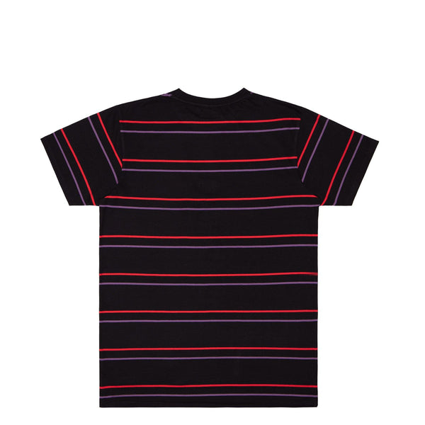 RTK STRIPES - T-SHIRT - BLACK