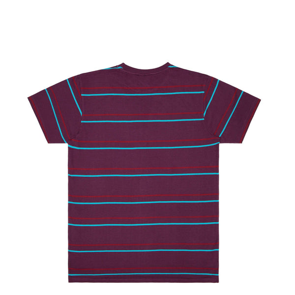RTK STRIPES - T-SHIRT - PRUNE